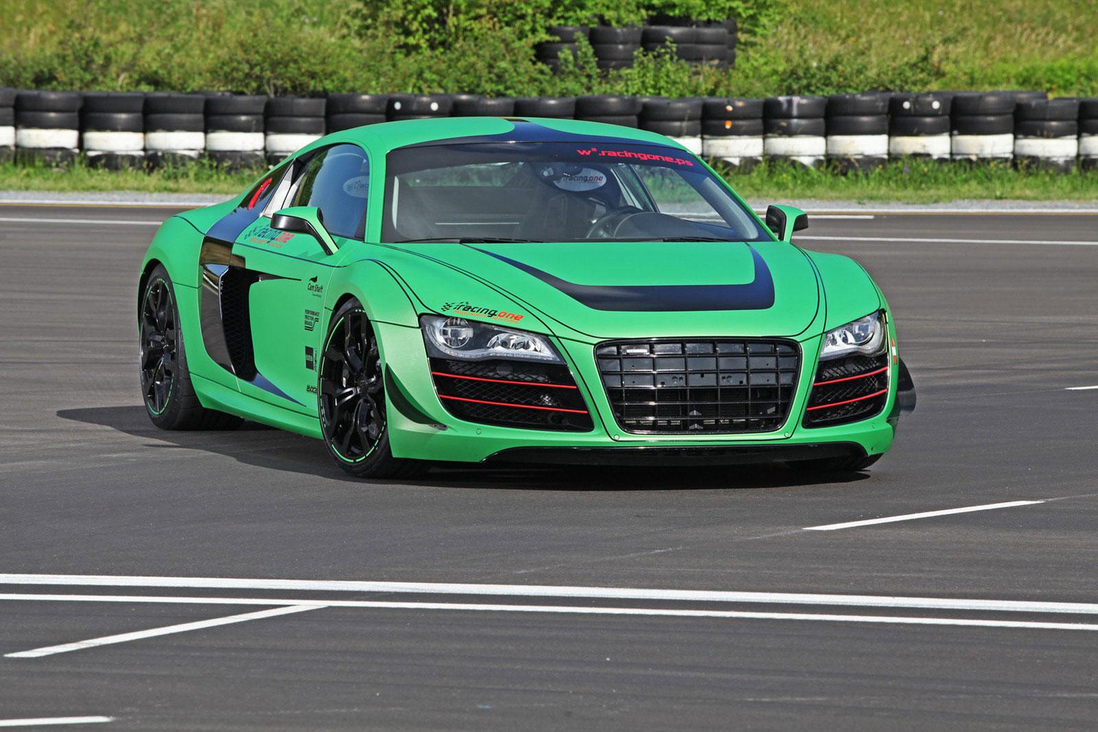 Zelené Audi R8 od německých tunerů Racing One 2