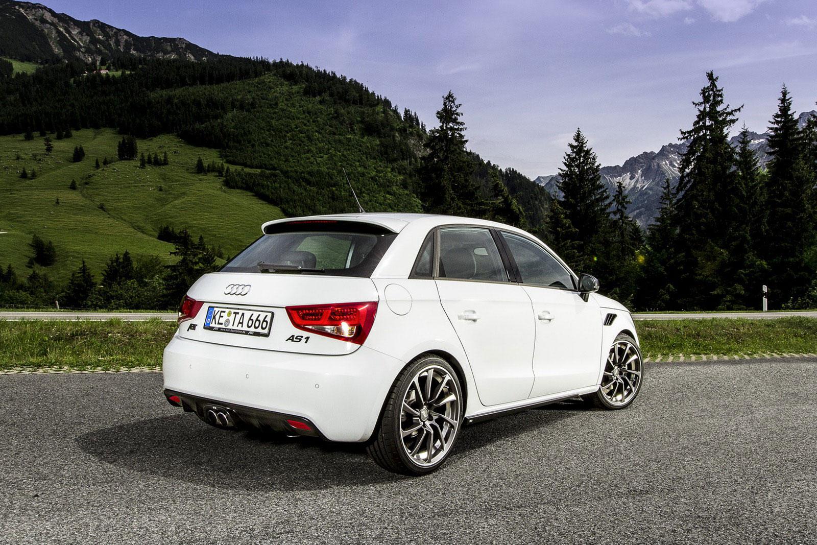 Audi A1 Sportback prodělalo pár vylepšení od ABT Sportsline 2