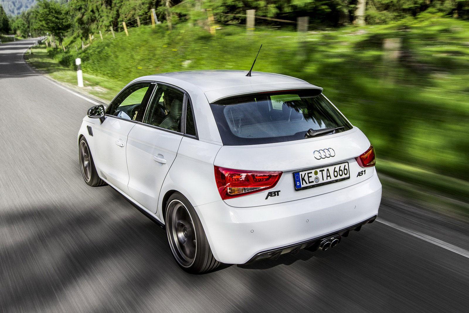 Audi A1 Sportback prodělalo pár vylepšení od ABT Sportsline 5