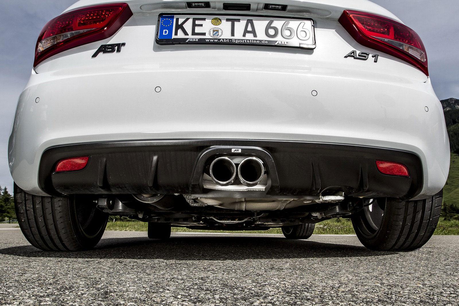 Audi A1 Sportback prodělalo pár vylepšení od ABT Sportsline 7