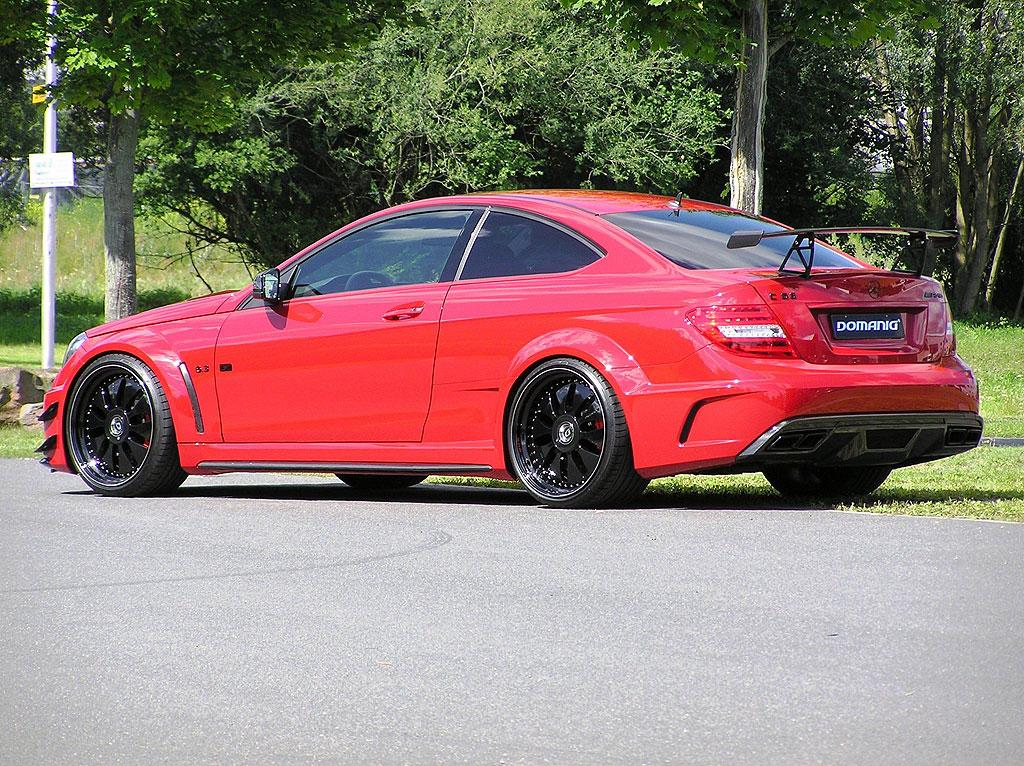 Domanig Autodesign dodali 600 koní pro Mercedes-Benz C63 AMG Black Series 2