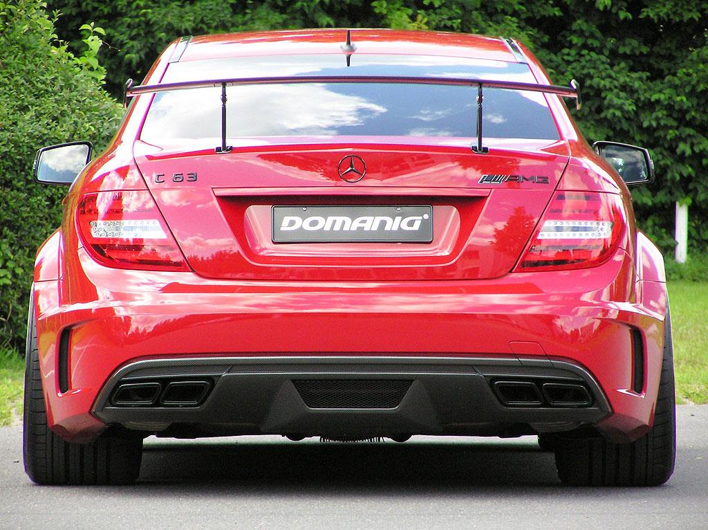 Domanig Autodesign dodali 600 koní pro Mercedes-Benz C63 AMG Black Series 3
