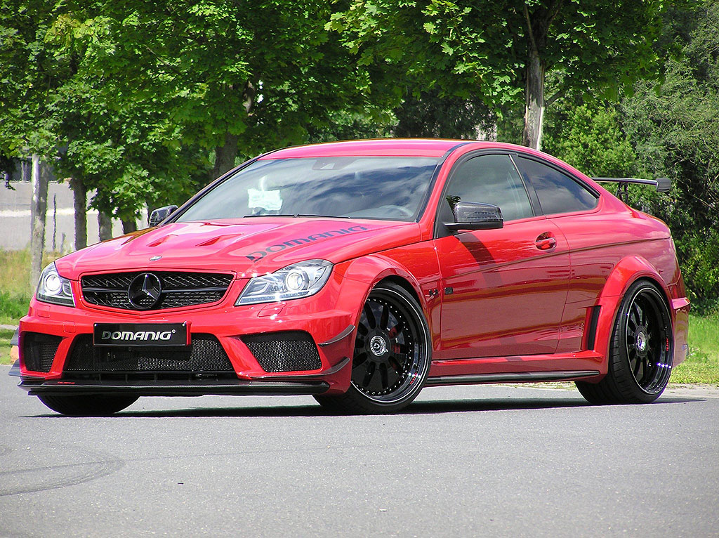 Domanig Autodesign dodali 600 koní pro Mercedes-Benz C63 AMG Black Series 4