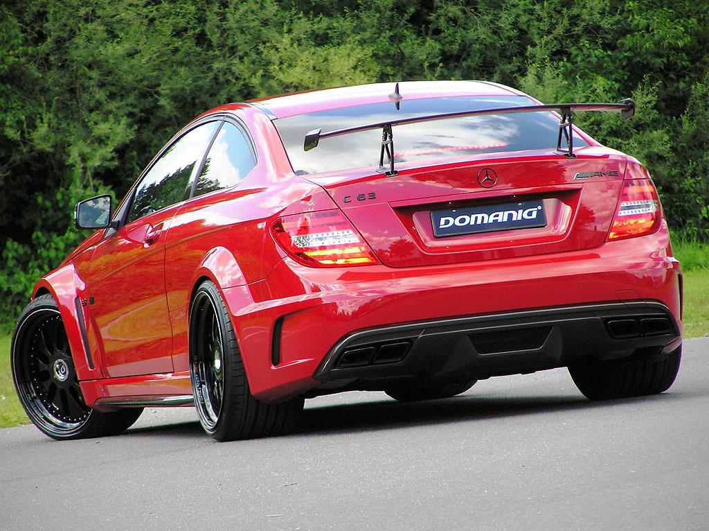 Domanig Autodesign dodali 600 koní pro Mercedes-Benz C63 AMG Black Series 5
