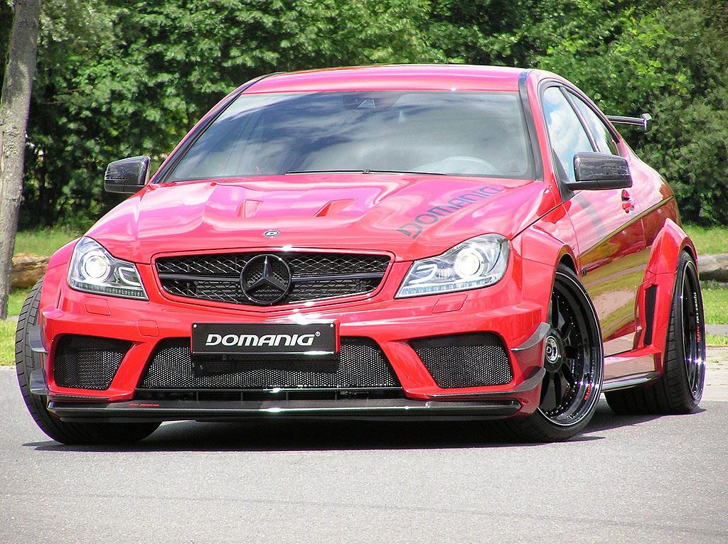 Domanig Autodesign dodali 600 koní pro Mercedes-Benz C63 AMG Black Series 6