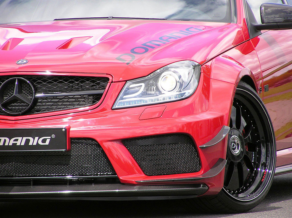 Domanig Autodesign dodali 600 koní pro Mercedes-Benz C63 AMG Black Series 7