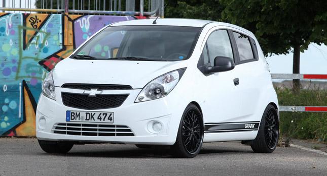 KBR Motorsport lehce vylepšili Chevrolet Spark 1