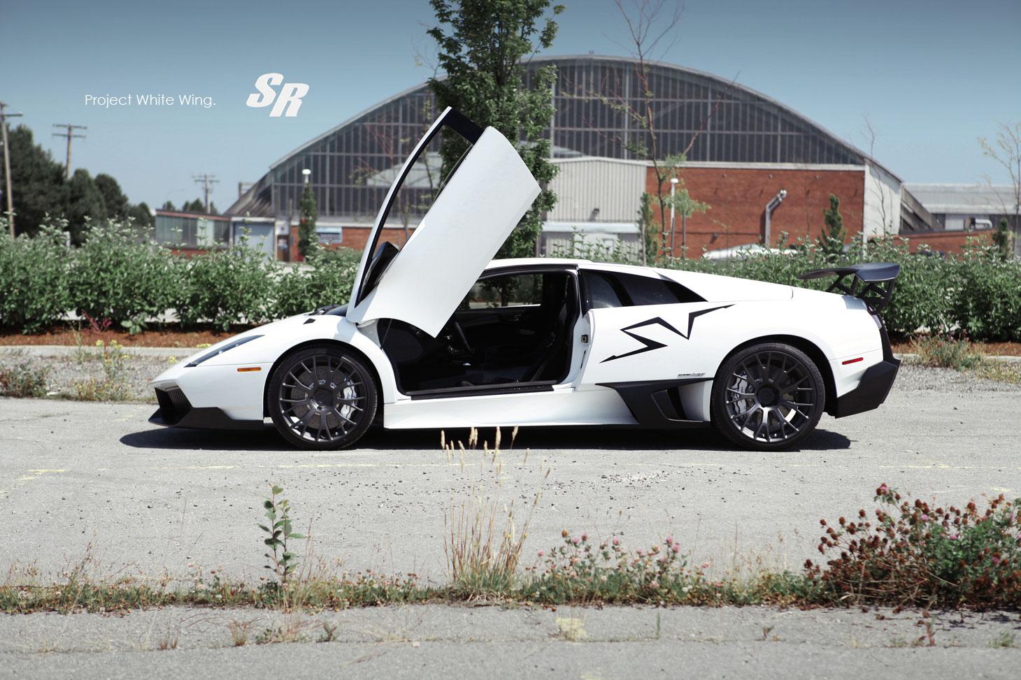 Lamborghini Murcielago LP670-4 SV jako Project White Wing 3