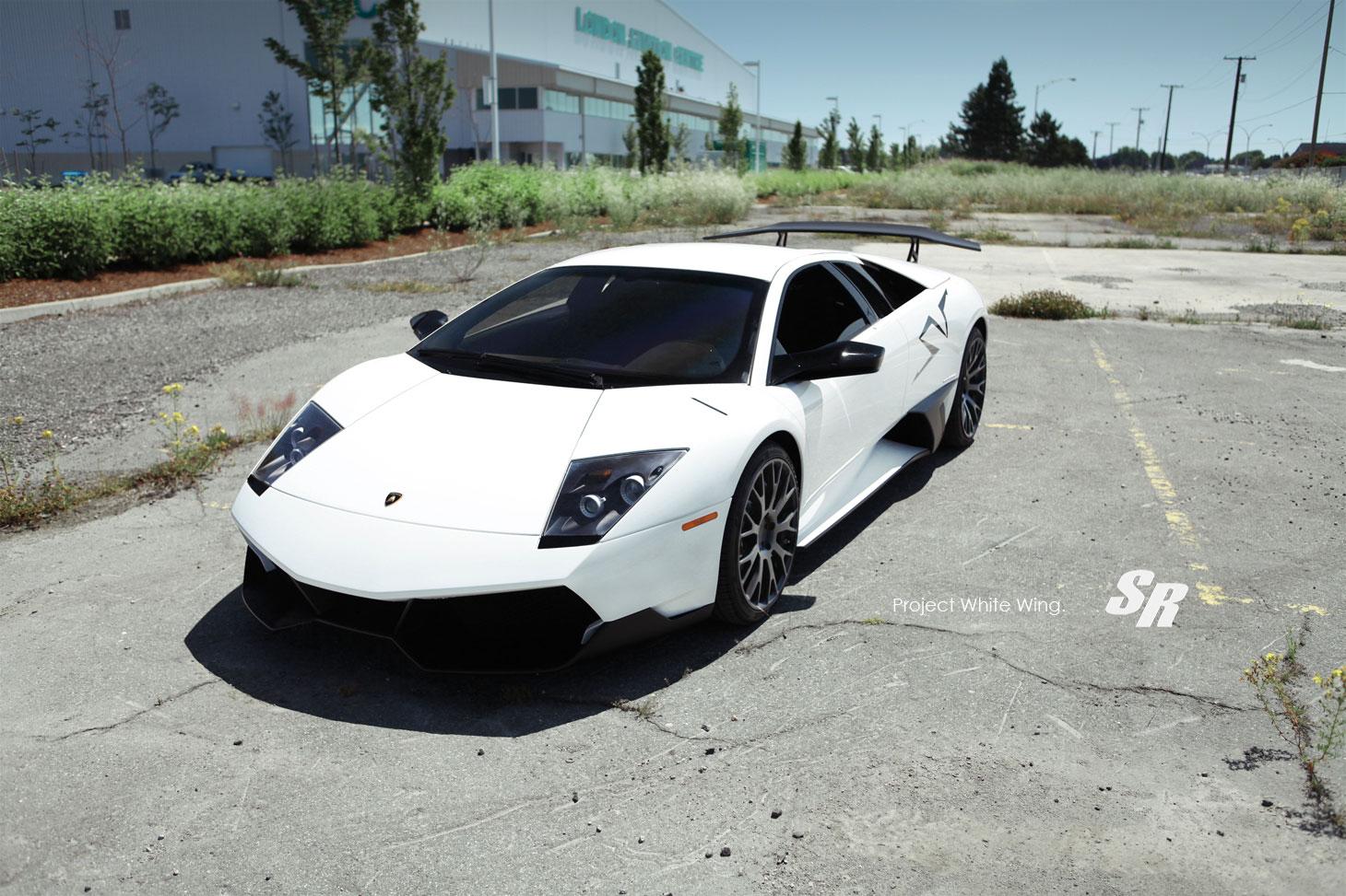 Lamborghini Murcielago LP670-4 SV jako Project White Wing 4