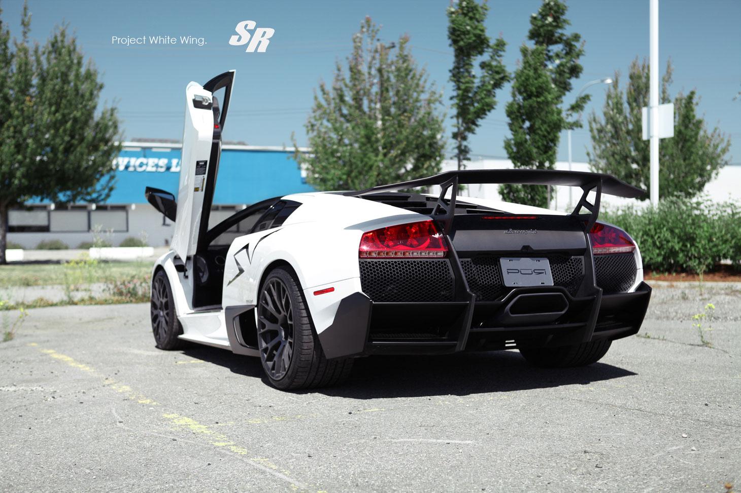 Lamborghini Murcielago LP670-4 SV jako Project White Wing 5