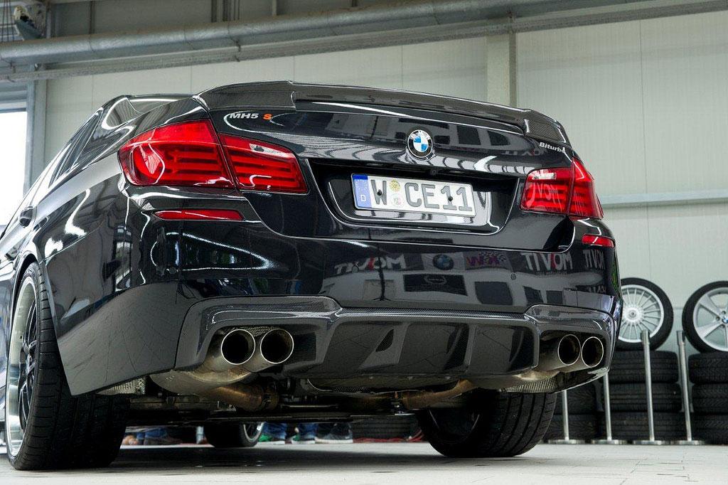 Manhart Racing představili našlapané BMW M5 7