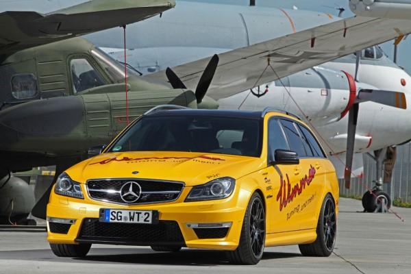 Mercedes-Benz C63 AMG dostal více než 100 koní 1