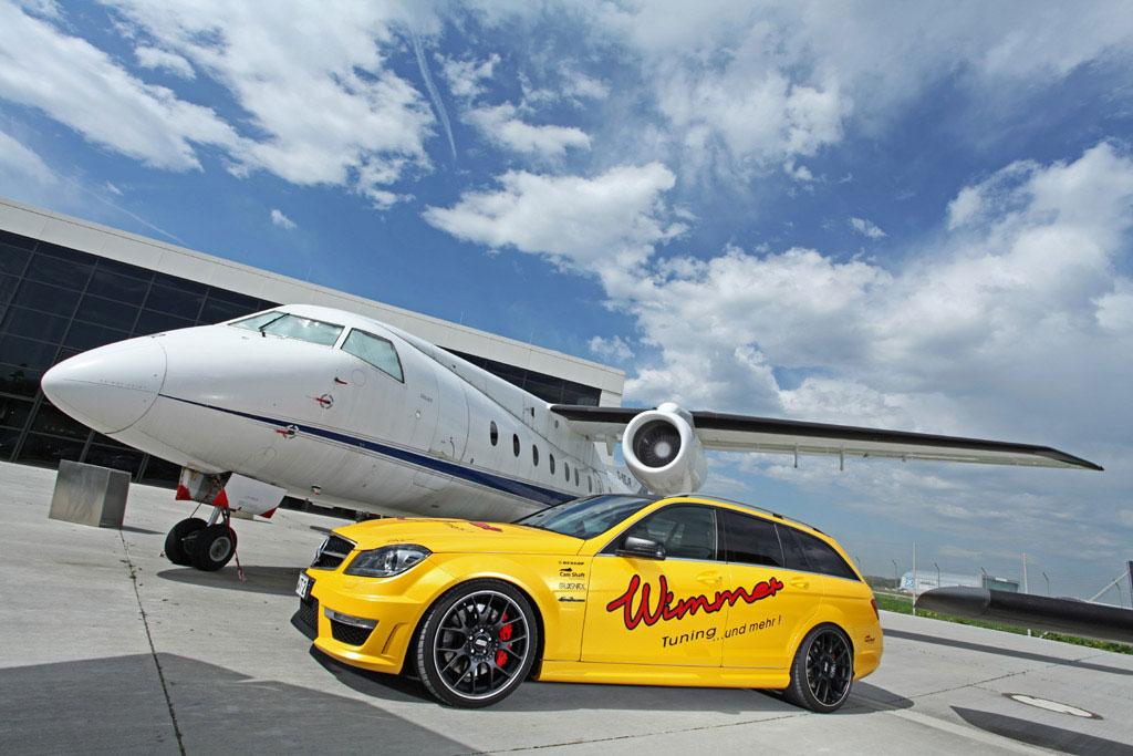 Mercedes-Benz C63 AMG dostal více než 100 koní 4