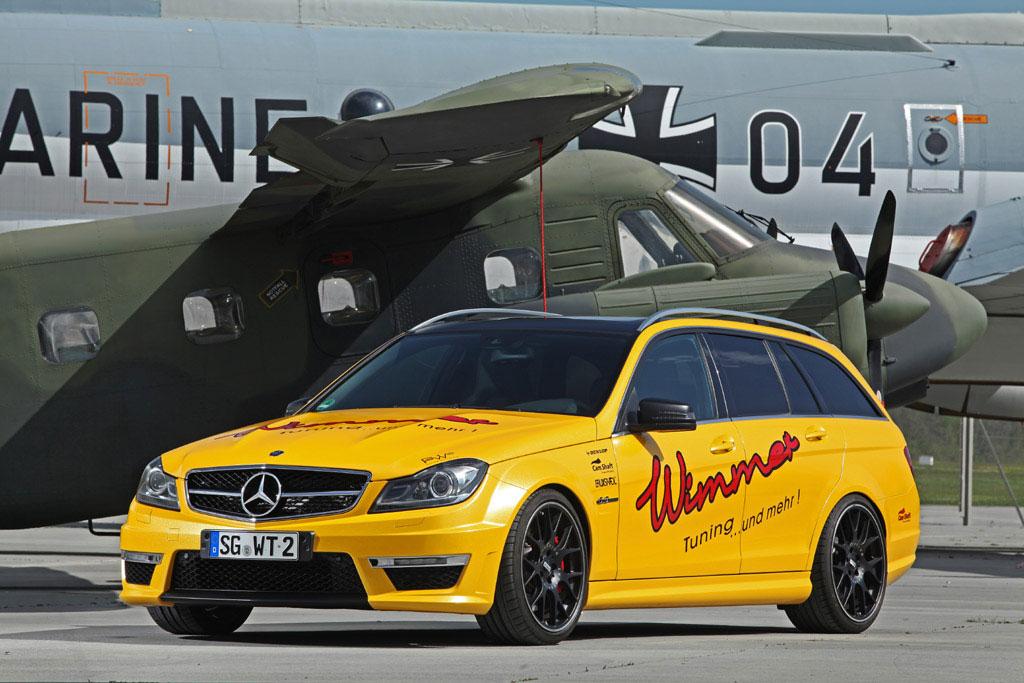 Mercedes-Benz C63 AMG dostal více než 100 koní 6