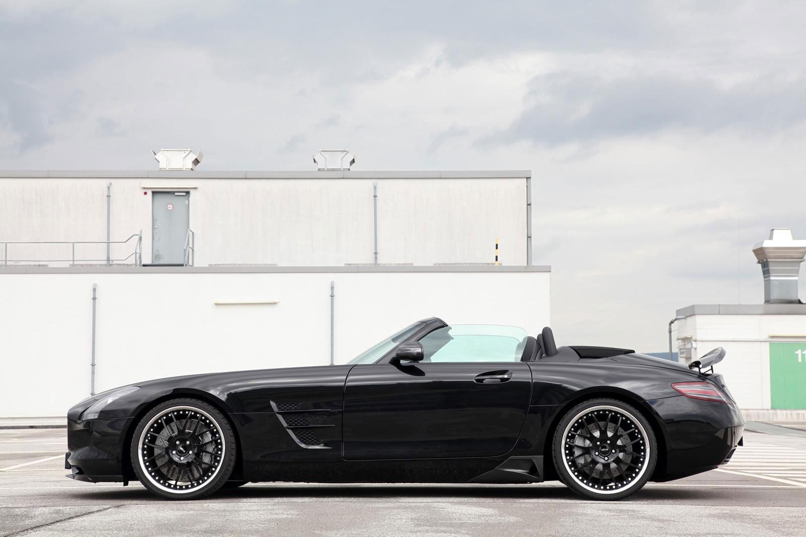 Mercedes-Benz SLS AMG má nově 702 koní od Väth 2