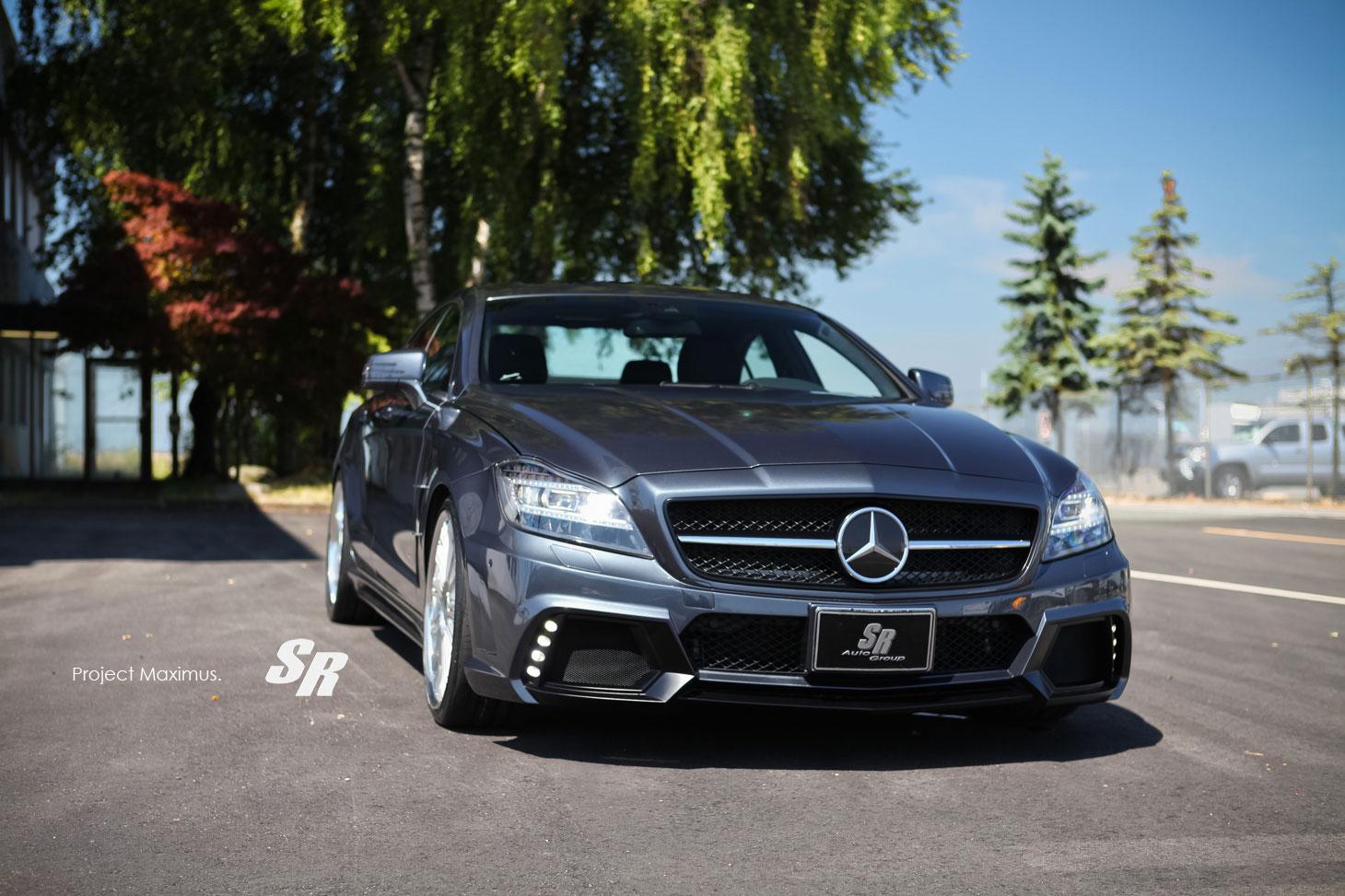 Mercedes CLS63 AMG dostal svalnatější vzhled od SR Auto Group 3