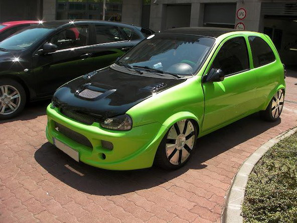 Opel Corsa na maďarský způsob 1