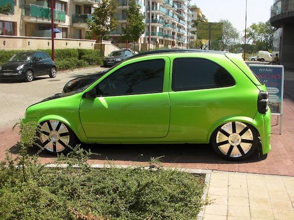Opel Corsa na maďarský způsob 2