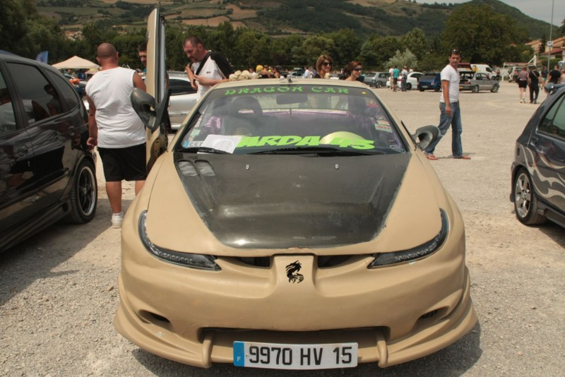 Peugeot 206 CC s drakem ve znaku 2