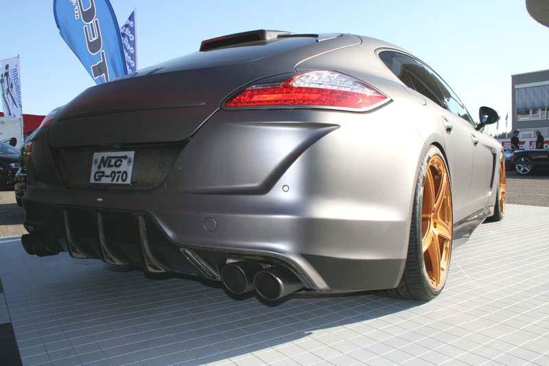 Porsche Panamera dostalo matný vzhled od No-Limit-Custom 2