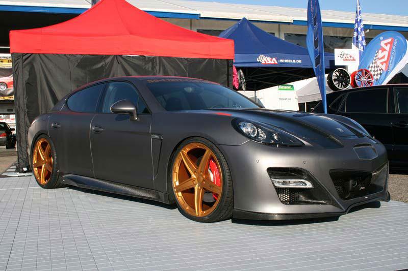 Porsche Panamera dostalo matný vzhled od No-Limit-Custom 4