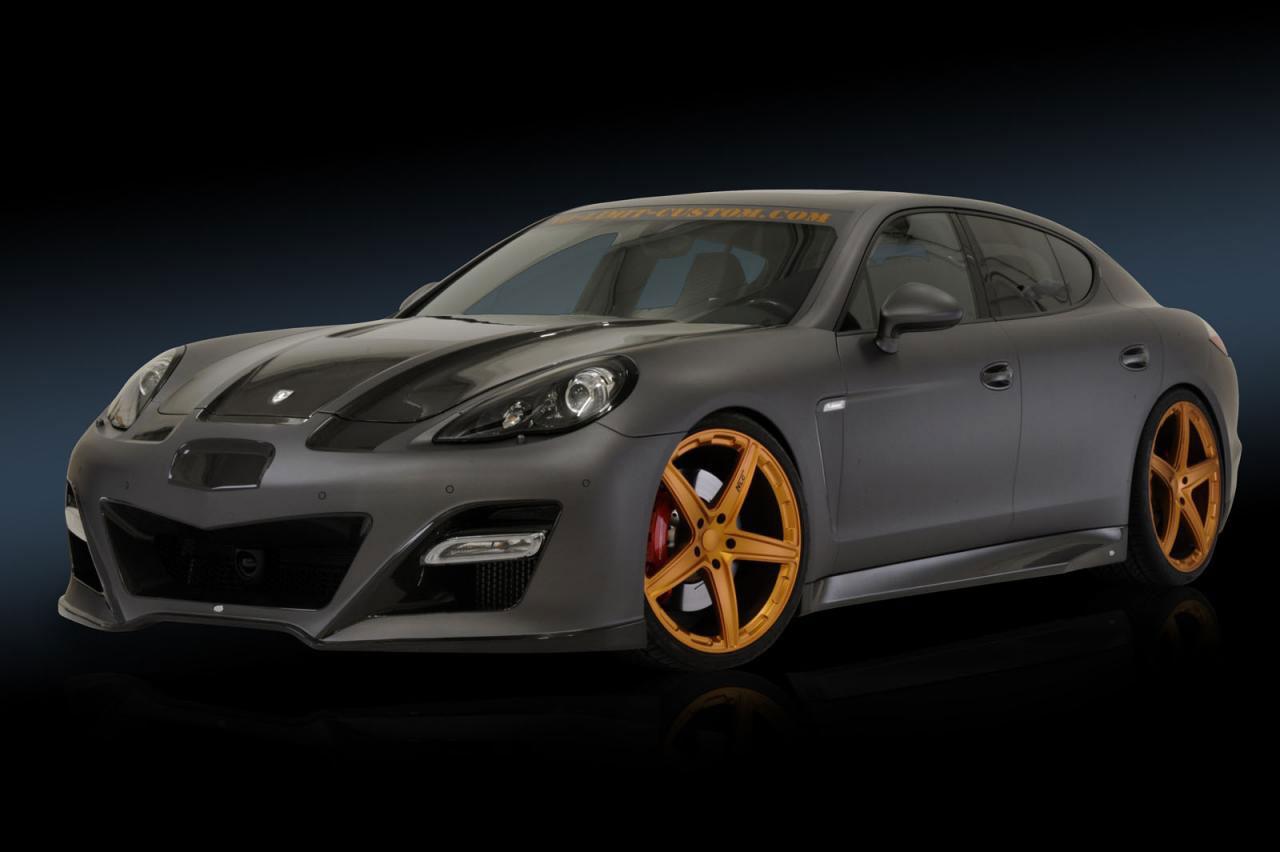 Porsche Panamera dostalo matný vzhled od No-Limit-Custom 5