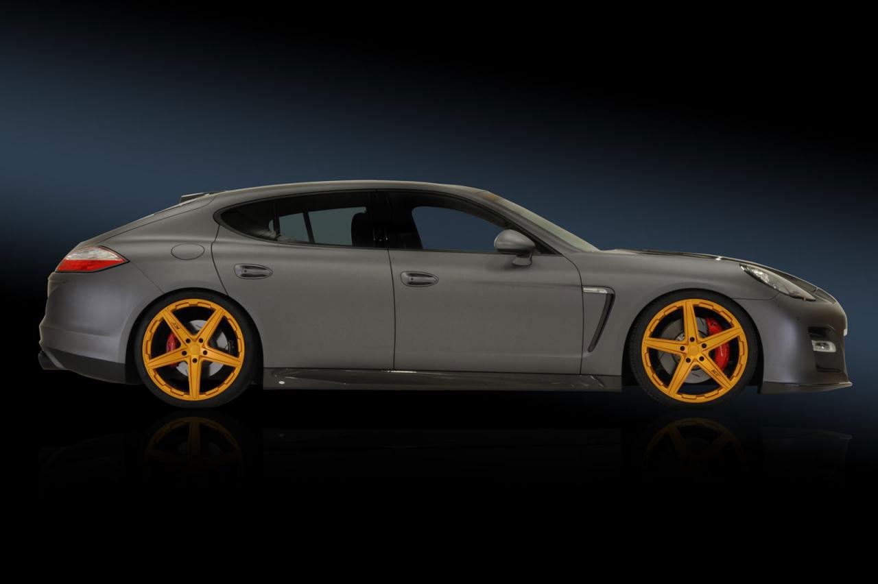 Porsche Panamera dostalo matný vzhled od No-Limit-Custom 6