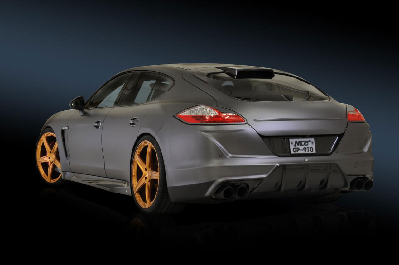 Porsche Panamera dostalo matný vzhled od No-Limit-Custom 8