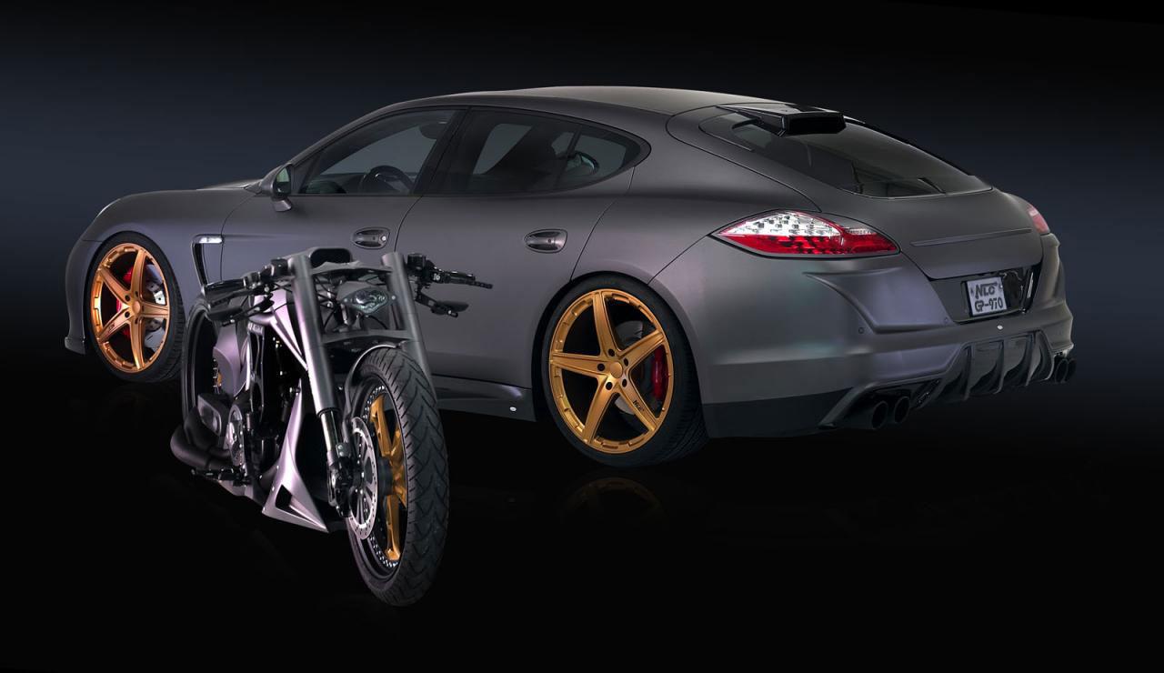 Porsche Panamera dostalo matný vzhled od No-Limit-Custom 9