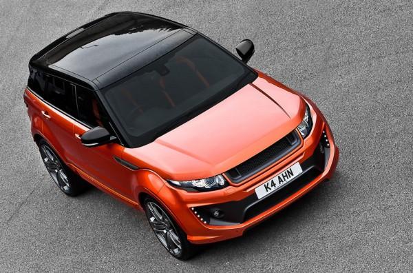 Project Kahn a další stylová úprava pro Range Rover Evoque 1