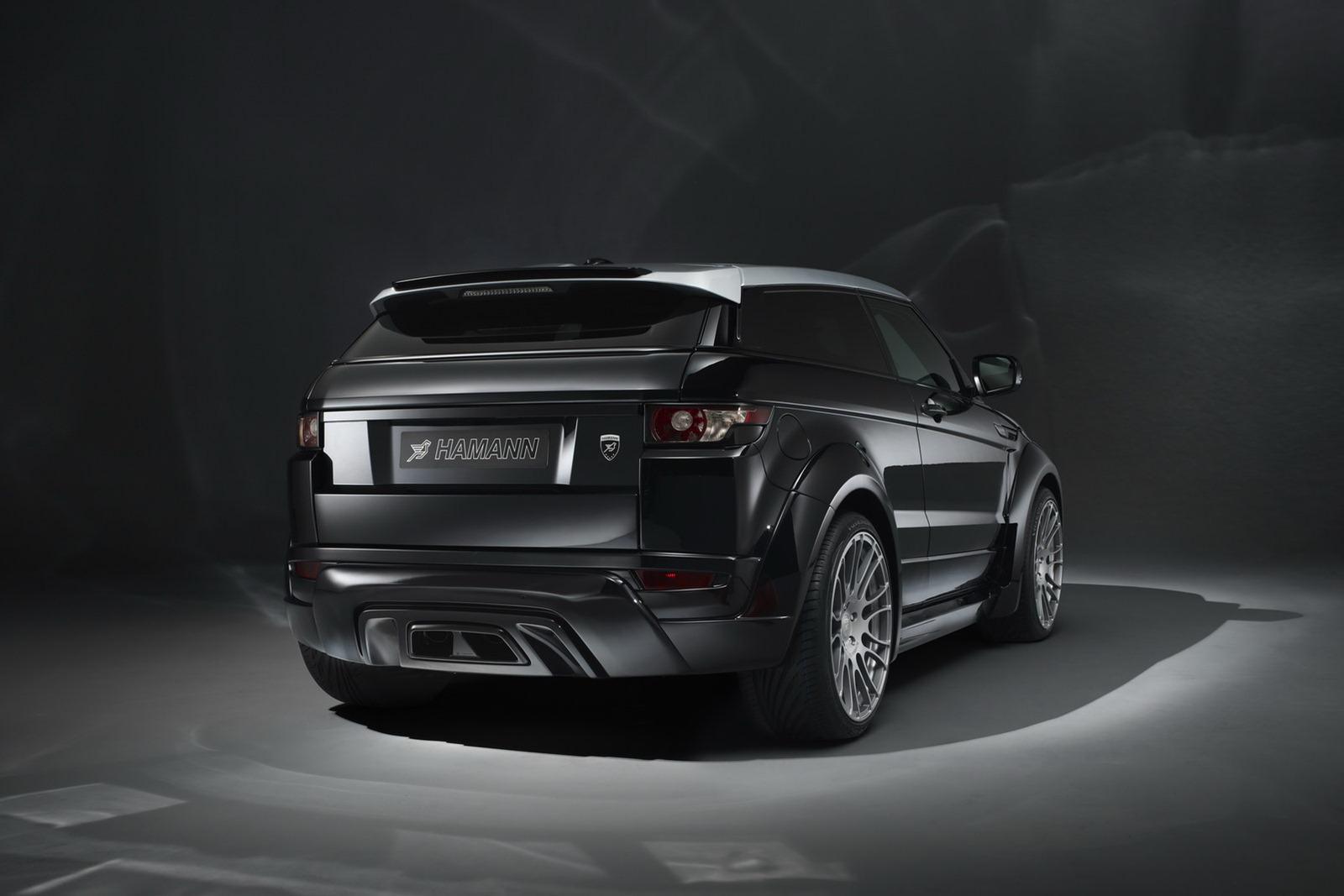Range Roveru Evoque a několik vylepšení od Hamann Motorsport 4