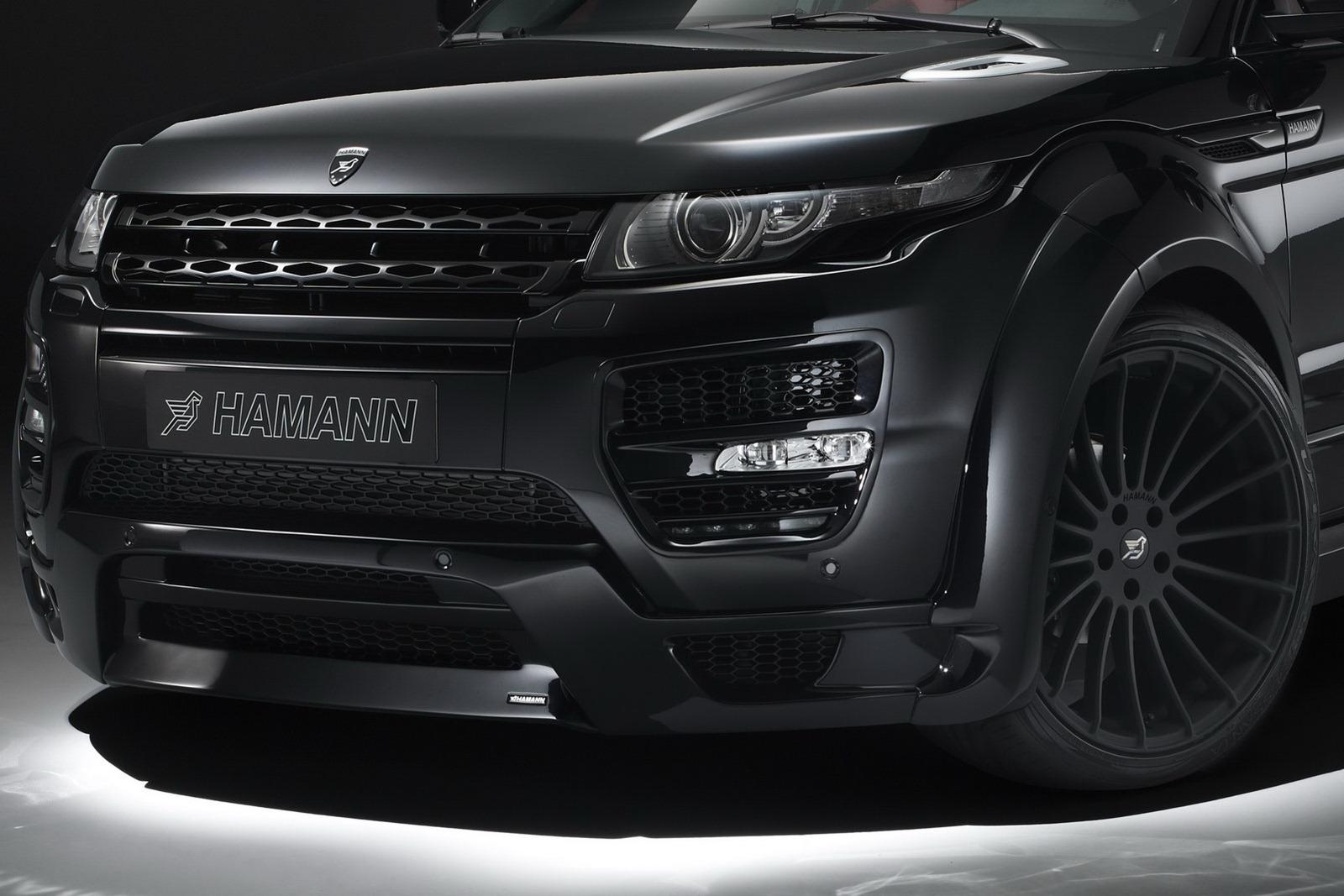 Range Roveru Evoque a několik vylepšení od Hamann Motorsport 5