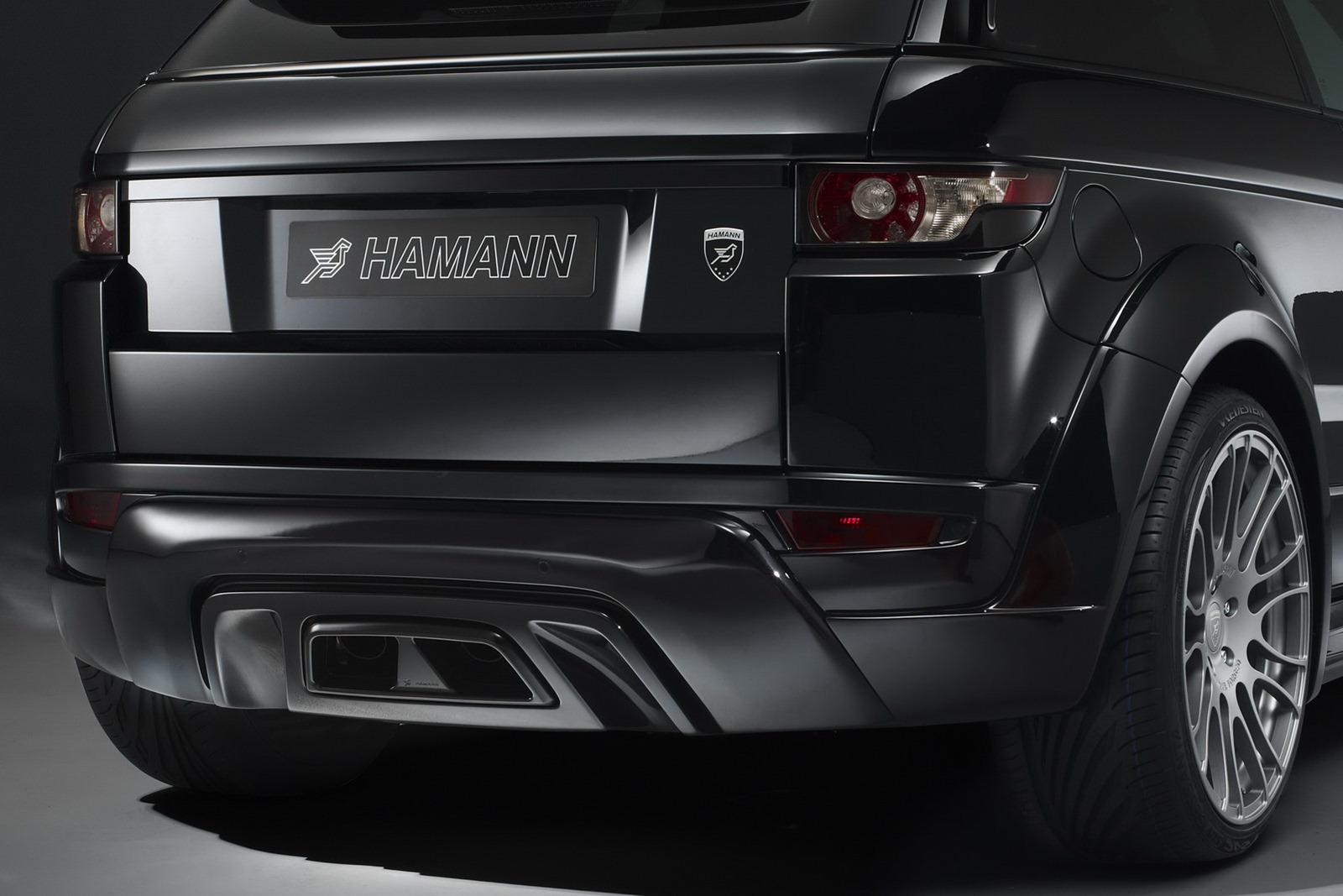 Range Roveru Evoque a několik vylepšení od Hamann Motorsport 6