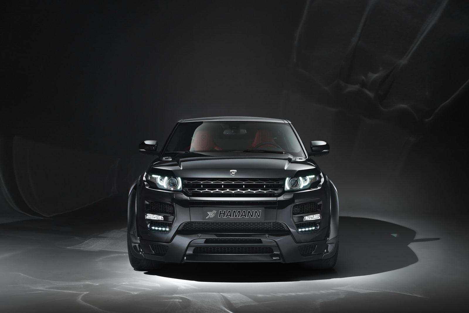 Range Roveru Evoque a několik vylepšení od Hamann Motorsport 7