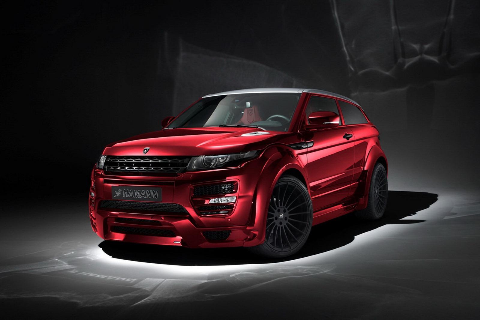 Range Roveru Evoque a několik vylepšení od Hamann Motorsport 8