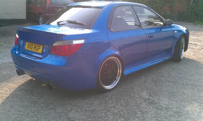 Subaru Impreza Japonec s německou tváří 2