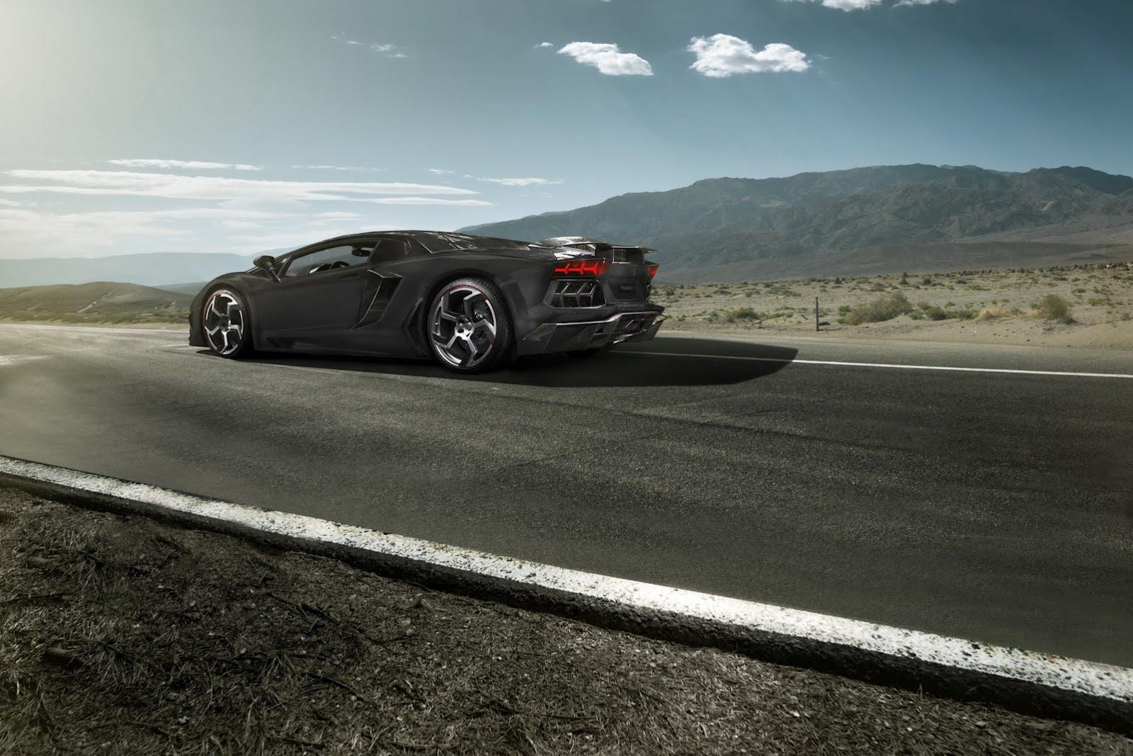 Tuneři z Mansory poladili Lamborghini Aventador 3