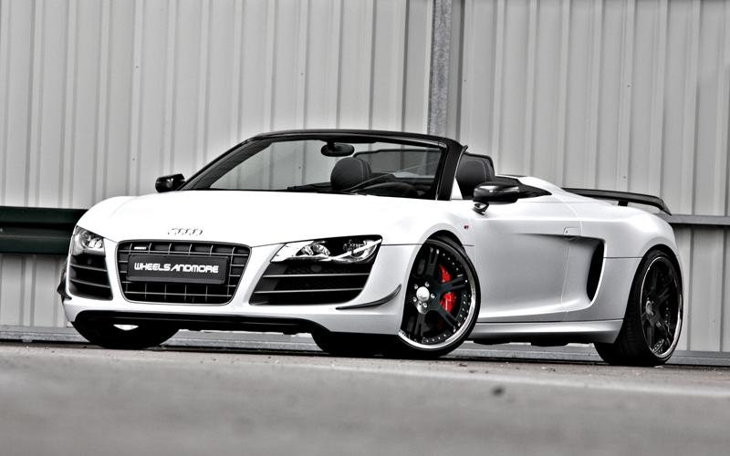 Wheelsandmore představili Audi R8 GT Spyder v limitované sérii 4