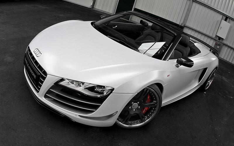 Wheelsandmore představili Audi R8 GT Spyder v limitované sérii 5