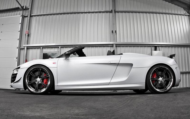 Wheelsandmore představili Audi R8 GT Spyder v limitované sérii 8