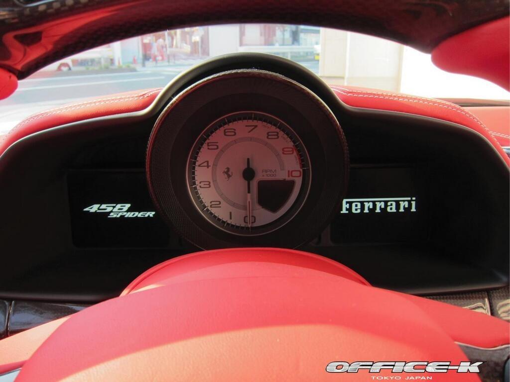 Ferrari 458 Spider s novým vzhledem od Office-K 10