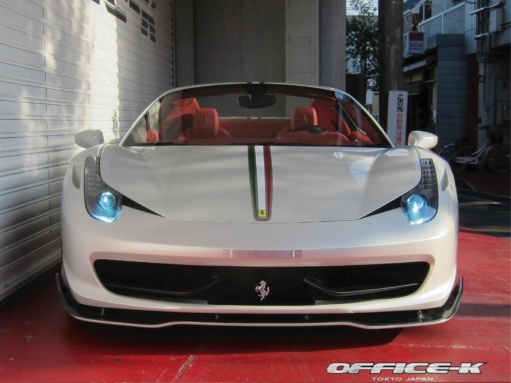 Ferrari 458 Spider s novým vzhledem od Office-K 6