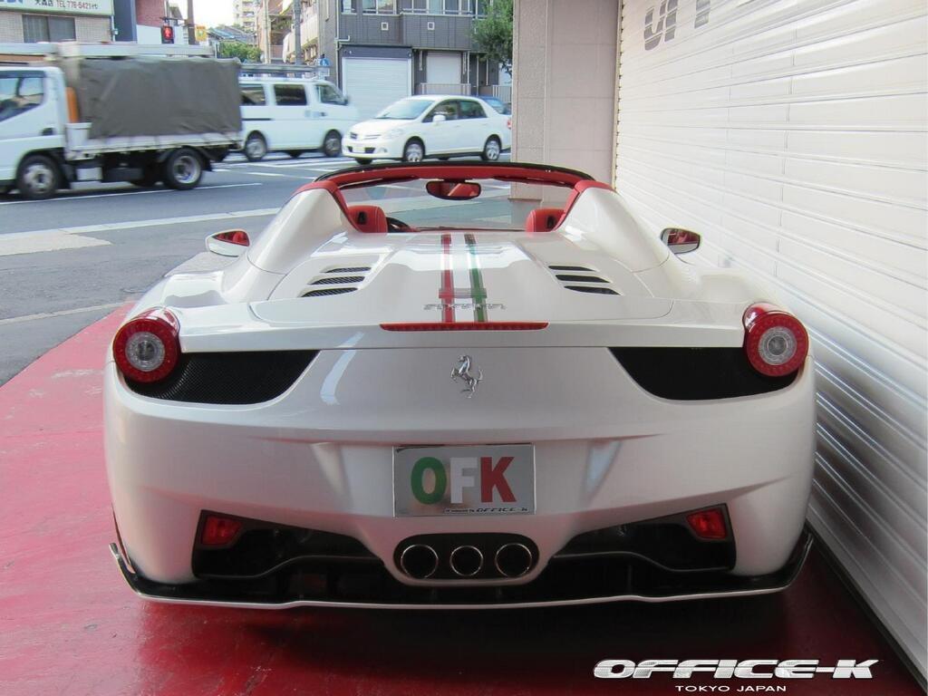 Ferrari 458 Spider s novým vzhledem od Office-K 7
