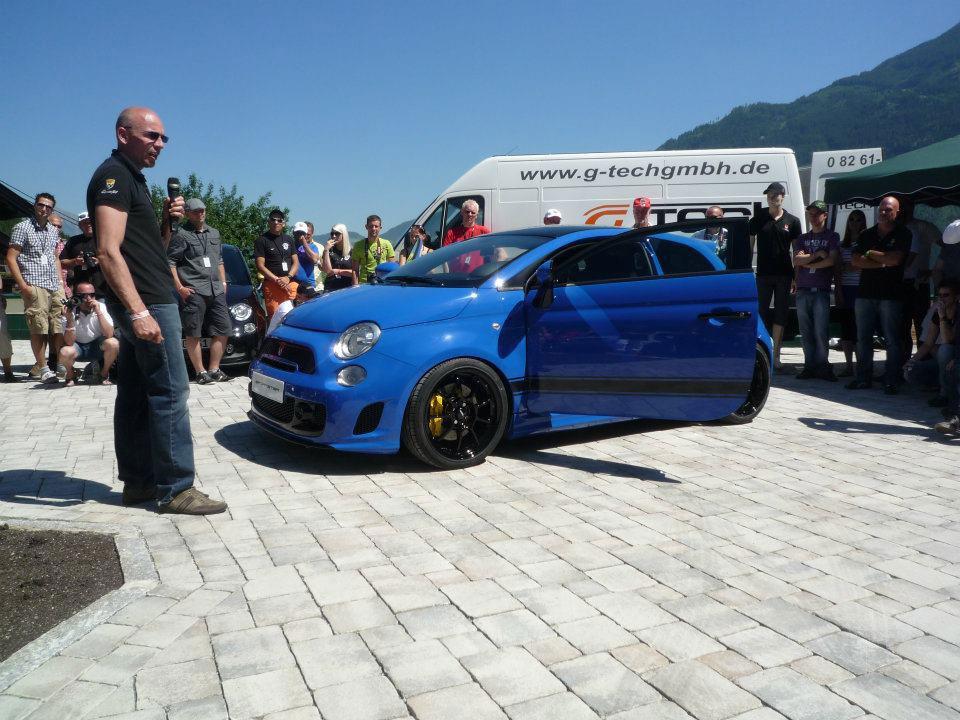 Fiat 500 dostal 340 koní od tunerů G-Tech 3