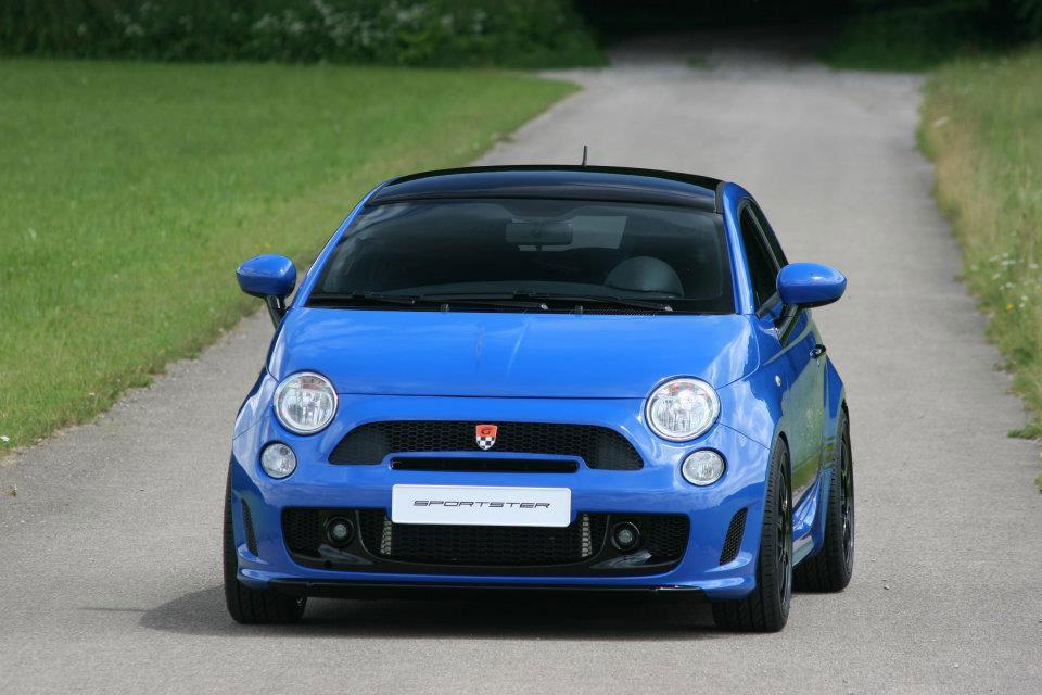Fiat 500 dostal 340 koní od tunerů G-Tech 7