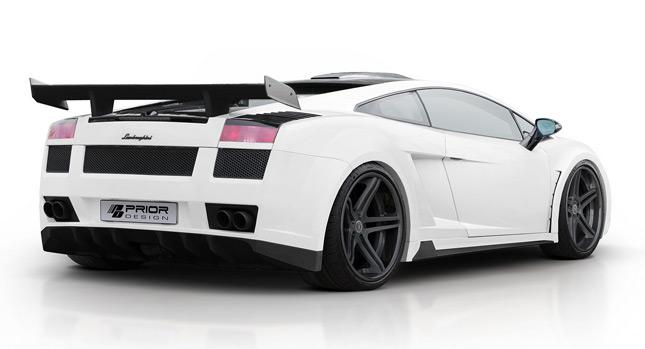Lamborghini Gallardo dostalo nový vzhled od Prior Design 1