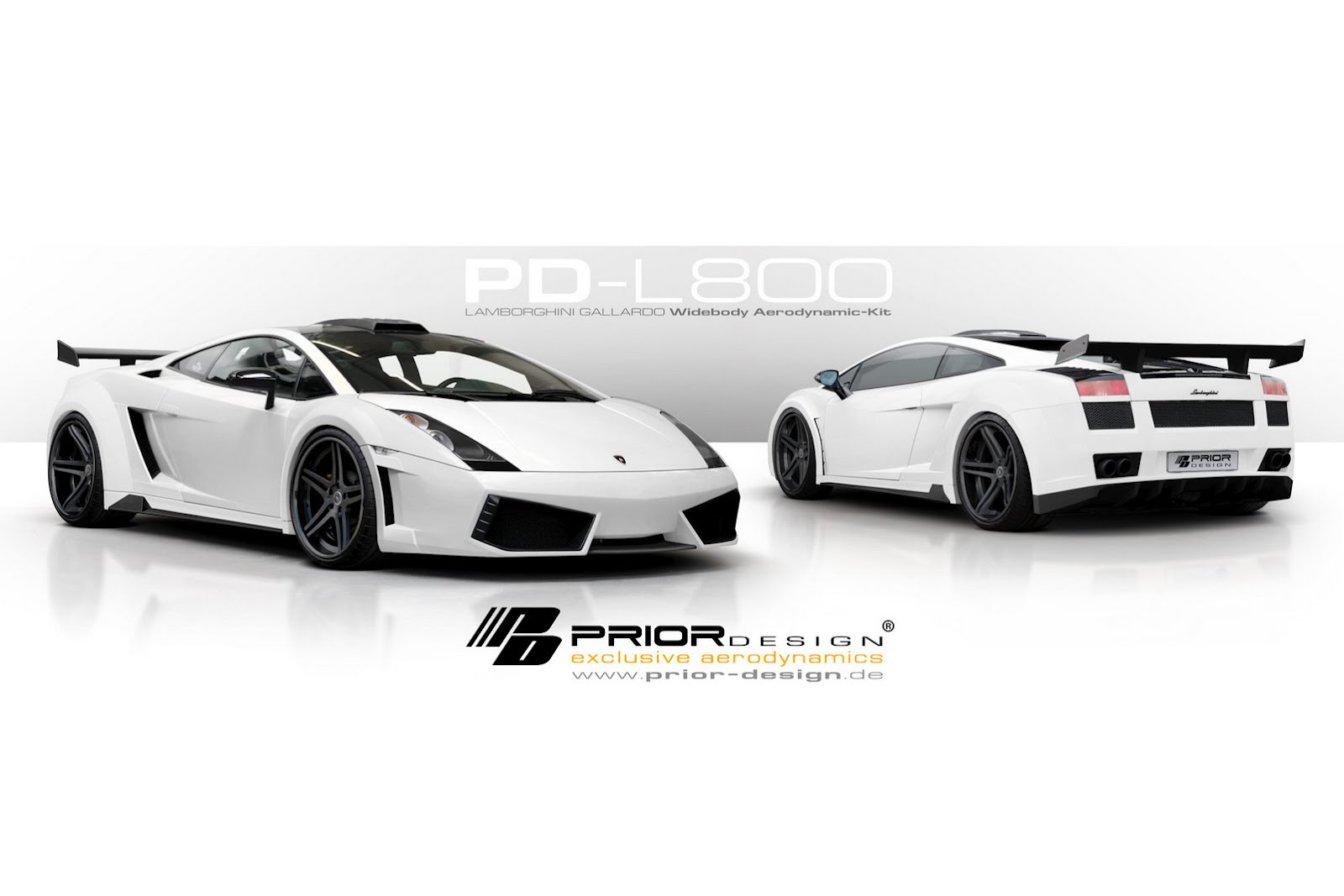 Lamborghini Gallardo dostalo nový vzhled od Prior Design 6
