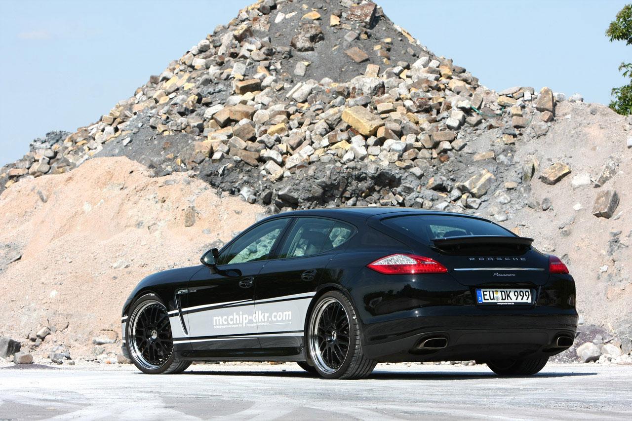 Mcchip-Dkr vylepšil naftové Porsche Panamera 2