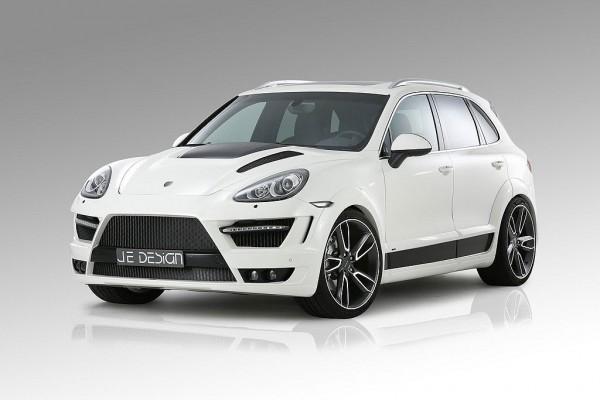 Porsche Cayenne v povedené úpravě od JE Design 1