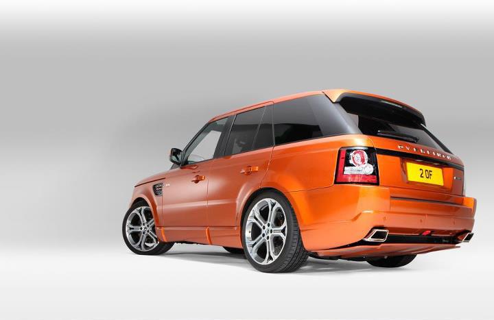 Tuneři Overfinch udělali sportovní Range Rover Sport 2
